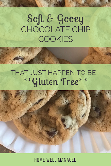 Home Well Managed Blog's gf gluten free chocolate chip cookies